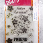Wplus9: embroidered bouquet