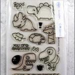 Paper Smooches: Cuteasaurus + Stanzen