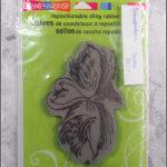 Stampendous: swan pair