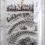Altenew: floral frame, 8€