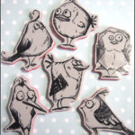 Tim Holtz, Stampers Anonymous: Bird Crazy