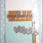 paper smooches: linked hearts