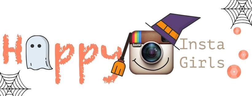 HappyInstaGirls: HalloweenHop Logo