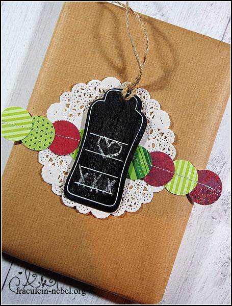 Geschenkverpackung #maluAdvent | © fraeulein-nebel.org