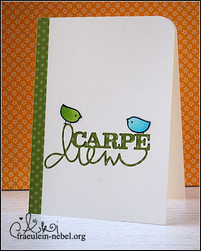"""Karte """"birds"""" mit lawn fawn hello sunshine & Stampin' Up!   fraeulein-nebel.org"""