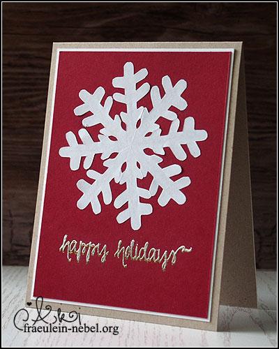 BlogBoard Adventskalender Tür 8 - Weihnachtskarte | © fraeulein-nebel.org