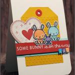 """[Werkeltisch] #104– Babykarte mit """"carnival cupcakes"""""""