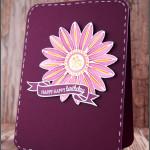 [Werkeltisch] Geburtstagskarte mit Blüte von Create a Smile