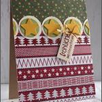 [Werkeltisch] #132 – einfache Weihnachtskarte #maluAdvent