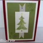 [Werkeltisch] #31 – noch eine Weihnachtskarte