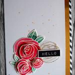 """[Werkeltisch] #142 – """"hello"""" mit Rosen"""