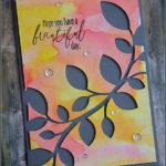 """[Werkeltisch] #151 – Geburtstagskarte """"beautiful day"""""""