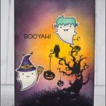 [Werkeltisch] Halloweenkarte: Halloween Town