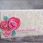 [Werkeltisch] Hochzeitskarte mit Rosen