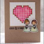 [Werkeltisch] #165 – Hochzeitskarte mit Herz