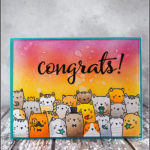 """[Werkeltisch] #170 – Geburtstagskarte mit """"the cat's meow"""" von Mama Elephant"""