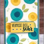 """[Werkeltisch] #175 – Karte """"Vermisse dich sehr"""""""