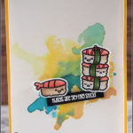 [Werkeltisch] #179 – Grußkarte für Sushi-Fans II