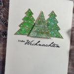 [Werkeltisch] #180 – Weihnachten 2017 mit Yupo und Alkoholtinte