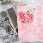 [Werkeltisch] Glückwunschkarte mit Rosen