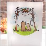 [Werkeltisch] Hochzeitskarte der etwas anderen Art #alpakahochzeit