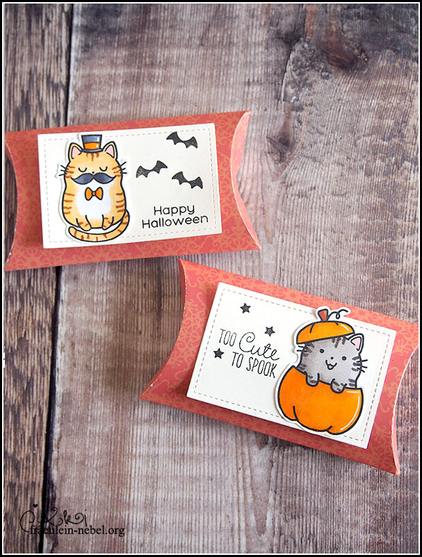 handgemachte Halloween BoxCard mit The Greeting Farm und Copic Markern | fraeulein-nebel.org