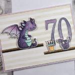 [Werkeltisch] Geburtstagskarte – me and my dragon