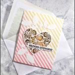 [Werkeltisch] Hochzeitskarte – heart of roses