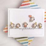 """[Werkeltisch] Geburtstagskarte mit """"little monkey agenda"""" von Mama Elephant"""