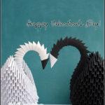 [gewerkelt] #49 – Valentine's Modular Origami Swan!