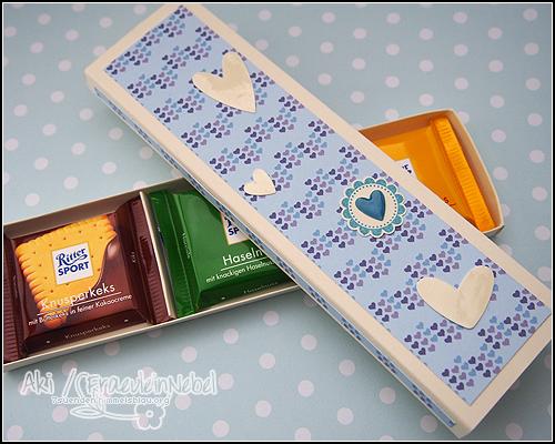 Schokoladenverpackung RitterSport  mit SU! | fraeulein-nebel.org