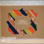 """[Werkeltisch] #68 – Geburtstagskarte """"happy birthday"""""""