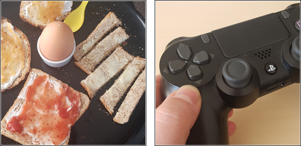 "Picture my Day"" Day 30 #pmdd30 Frühstück und Playstation 4 mit Monster Hunter World"