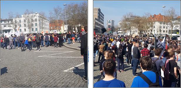 """Picture my Day"""" Day 30 #pmdd30 steigende Teilnehmerzahl bei der Demo"""