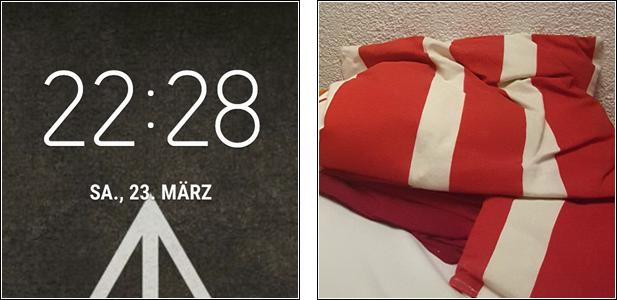 """Picture my Day"""" Day 30 #pmdd30 das Bett ruft, gute Nacht!"""