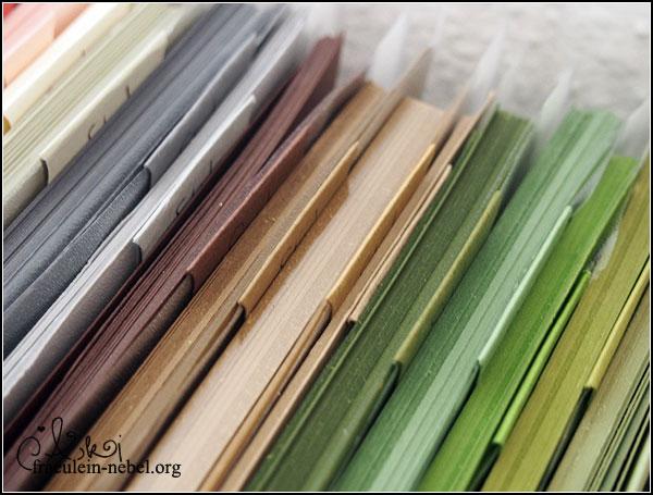 Werkelzimmer: Papieraufbewahrung