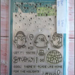 lawn fawn - snow cool