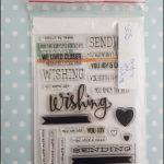 Simon Says Stamp - sending and wishing
