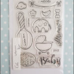 create a smile stamps - willkommen Baby
