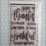 Ranger - letter it: thank you